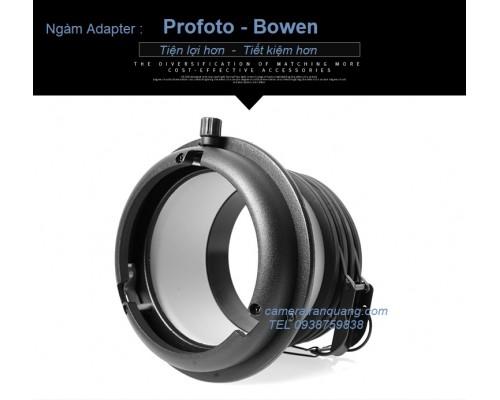 Ngàm đèn  Profoto-Bowen