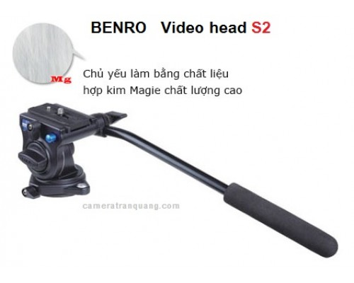 Benro Video Head S2