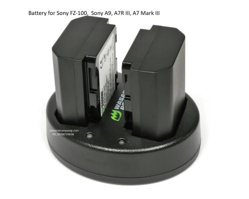 pin Sony FZ-100 dùng cho Sony A9, A7R III, A7 Mark III