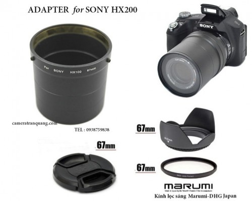 Adapter Sony HX200 HX300