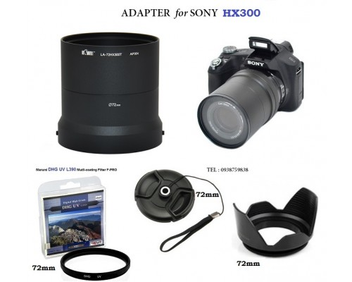 Adapter Sony HX300