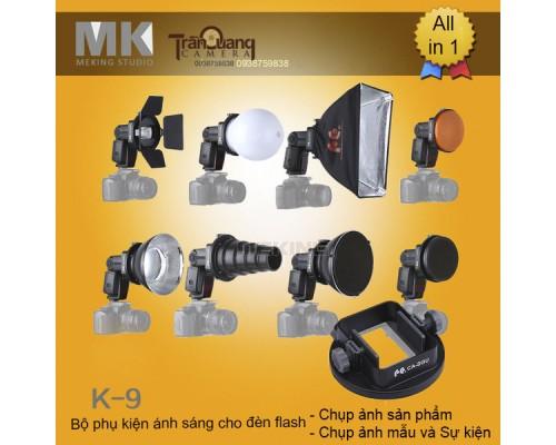 Bộ K9 chụp ảnh sản phẩm