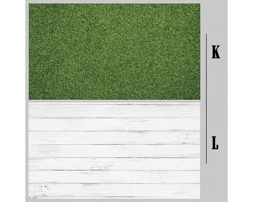 Mẫu K-L  tấm nền PVC 2 Mặt