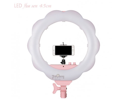 Đèn LED make-up hình Hoa Sen 45cm
