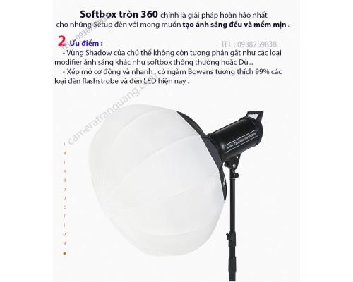 Softbox tròn 50cm