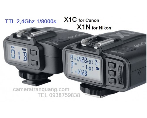 Godox X1C X1N TTL (bộ)