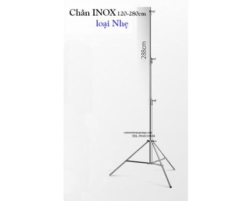 INOX stand 2.8m (loại NHẸ)