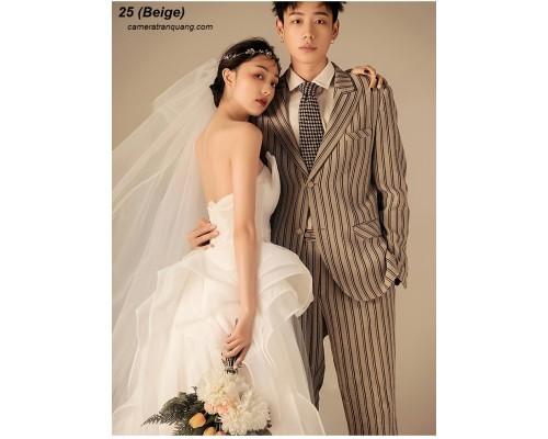Phông  màu số  25 Beige  Wedding Photo